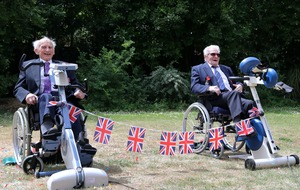 Normandy veterans complete 104-mile cycling challenge
