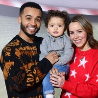 Aston Merrygold gives fans a glimpse of new baby Macaulay Shay