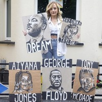 Posters created by Belfast student for Black Lives Matter protests to be auctioned