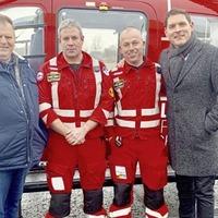 Malachi Cush raises £10,000 for NHS and Air Ambulance NI