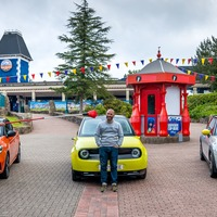 Top Gear resumes filming with race round deserted Alton Towers
