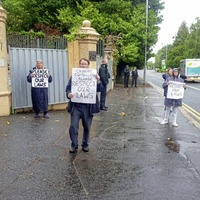 Legal action adjourned as Belfast Chinese Consulate says wall work stopped