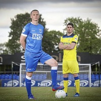 Dungannon Swifts FC unveil new kit with NHS logo