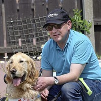 Visually impaired Newry man tells of lockdown challenges for him and his guide dog