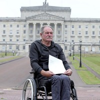 Former republican prisoner gives Troubles pension appeal letter to secretary of state