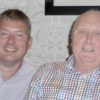 Cliftonville legend Jackie Hutton's son joins cancer charity fundraiser