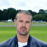 Paddy McGuinness says he is 'fine' after skidding off road while making Top Gear