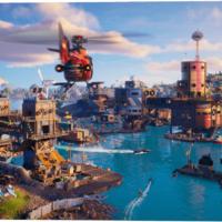 Fortnite floods its island for new season update