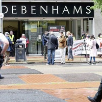 Debenhams workers from the Republic take campaign over redundancy pay outs to Belfast