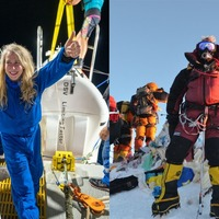British explorer becomes first woman to reach Earth's highest and lowest points