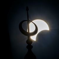 Solar eclipse wows stargazers in Africa, Asia and the Middle East