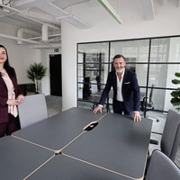 Belfast's newest flexible workspace opens for distanced and digital viewings