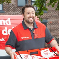 Jason Manford stepped in to help injured cyclist during Iceland delivery