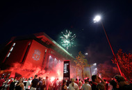 Police warning as Liverpool fans party in the streets
