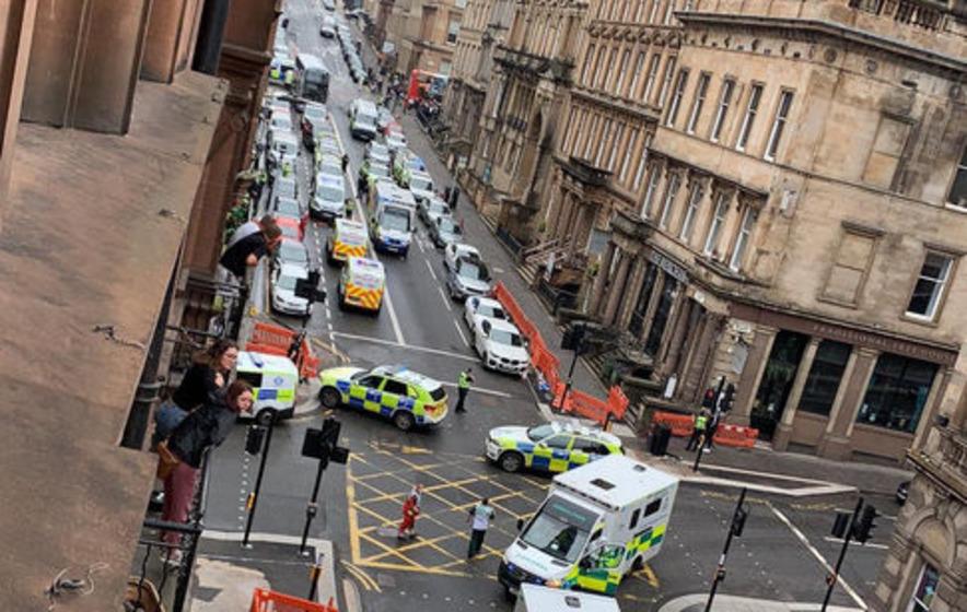 Nicola Sturgeon 'shocked and saddened' by Glasgow incident