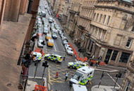 Glasgow stabbing not being treated as terrorism