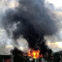 Huge blaze at Co Antrim business park