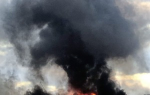 Huge blaze at Co Antrim business park