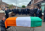 Hundreds of mourners turn out for funeral of former leading IRA figure Bobby Storey