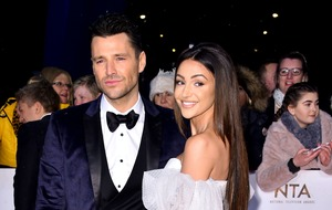 Michelle Keegan: I don't see what's wrong with Mark and I spending time apart