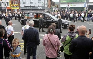 PSNI to investigate 'any suspected breaches' of coronavirus restrictions made at Bobby Storey funeral