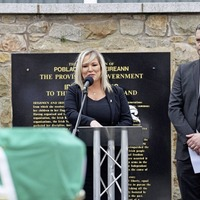 Mary Lou McDonald says Michelle O'Neill doesn't need to step aside over Bobby Storey funeral row