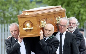 Bobby Storey funeral: DUP MLA reports five Sinn Féin MLAs to assembly speaker