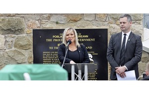 Video: Michelle O'Neill says she 'would never set out to hurt any family'