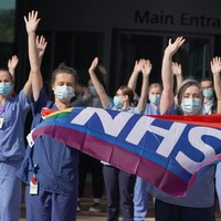 In pictures: Nationwide clap celebrates 72nd anniversary of NHS