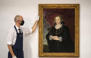 Rubens painting rediscovered after layers of dirt and varnish removed