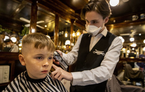 Coronavirus: Hairdressers reopen in Northern Ireland