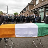 Police 'will refer coronavirus restrictions breaches at Bobby Storey funeral to prosecution service'