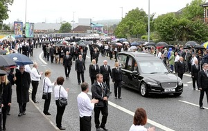 Belfast city councils denies 61 people present at Bobby Storey cremation
