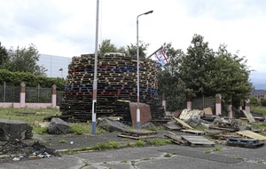 Concerns over loyalist bonfire at north Belfast interface