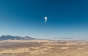 Internet signal-carrying balloons begin service in Kenya