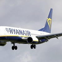 Two men detained after 'security threat' on Ryanair flight to UK