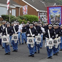 Loyalist band parade barred from mixed area of north Belfast