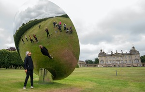 Anish Kapoor sculptures displayed at stately home as lockdown eased