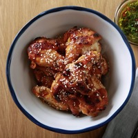 James Street Cookery School: BBQ beef ribs and sesame and soy chicken wings