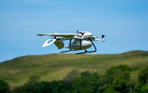 Covid-19 test kit delivery drones receive funding boost