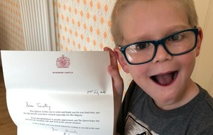 Seven-year-old boy sends Queen a word search to spread cheer during lockdown