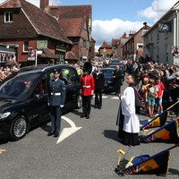 In Pictures: Crowds line streets to bid farewell to Dame Vera Lynn