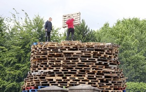 July 11 bonfires set to be lit at midnight
