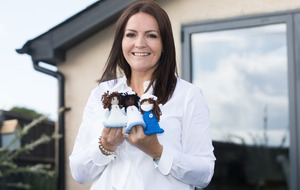 Woman who knits angel mascots for key workers wins '£1m of cheer' on scratchcard