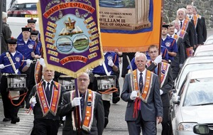 'Riding the Goat' Orange Order ritual revealed
