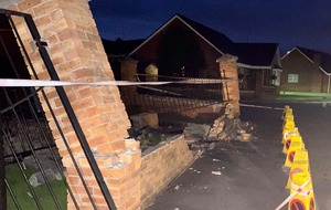 Man arrested after crashing into Portadown primary school wall