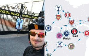 Friends to cycle past 21 London football stadiums in one day for charity