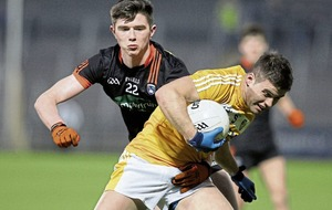 Armagh midfielder Ben Crealey ruled out with broken collarbone