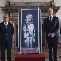 Italy returns stolen Banksy to France on Bastille Day
