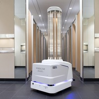 UV cleaning robots introduced at Heathrow